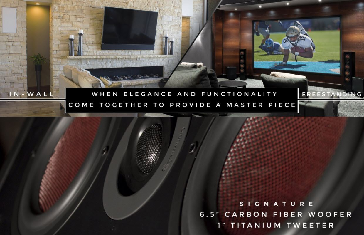 Freestanding Home Theater Speakers