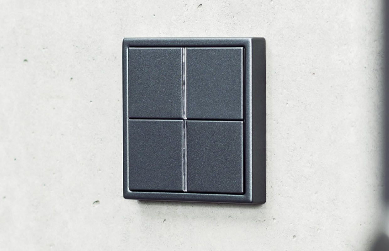 KNX Elegance Stainless Aluminum Brass Switches