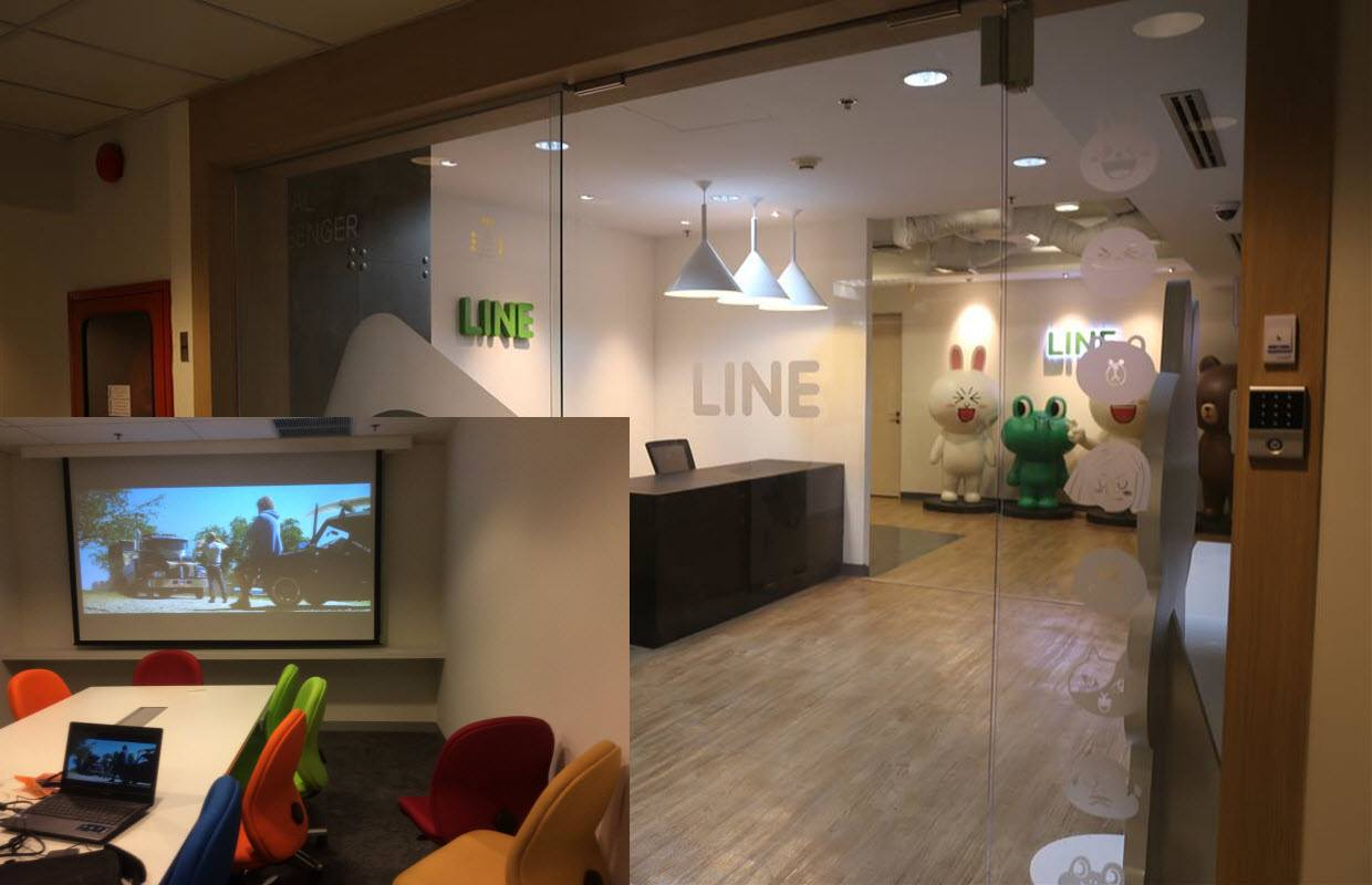 Line Thailand VIdeo Conference Bangkok