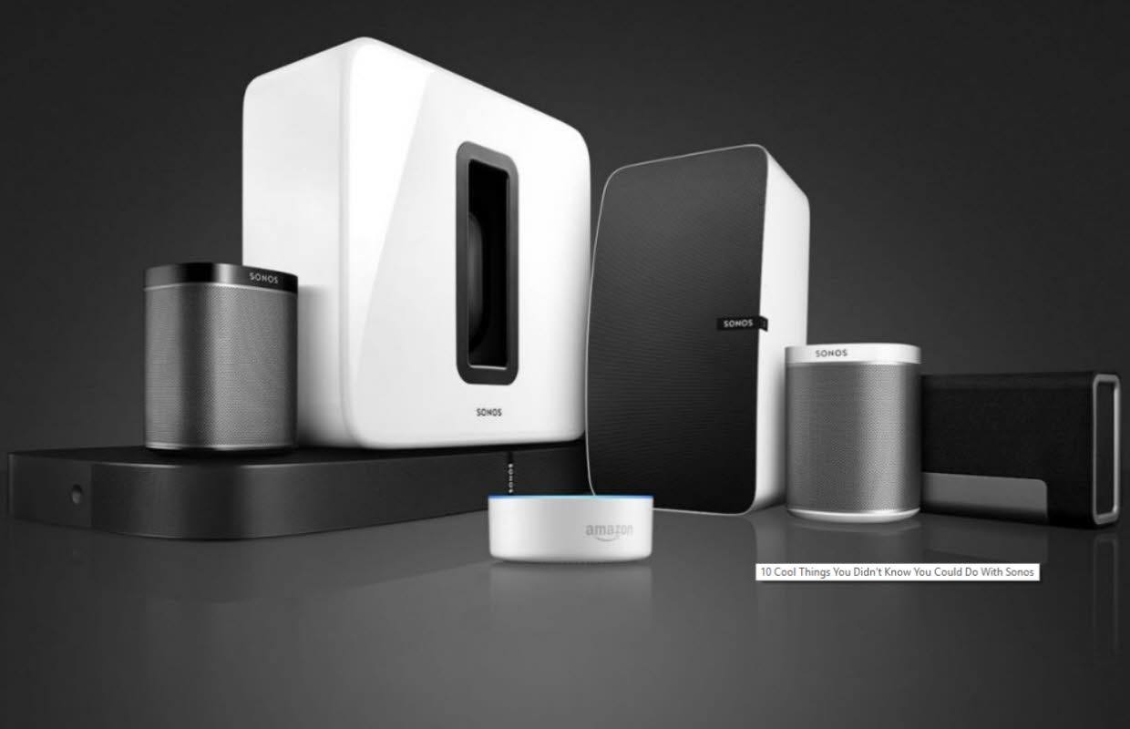 SONOS Products in Thailand by Exzel
